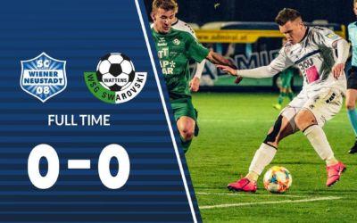 0:0 gegen Wattens – Tabellenführer gestürzt