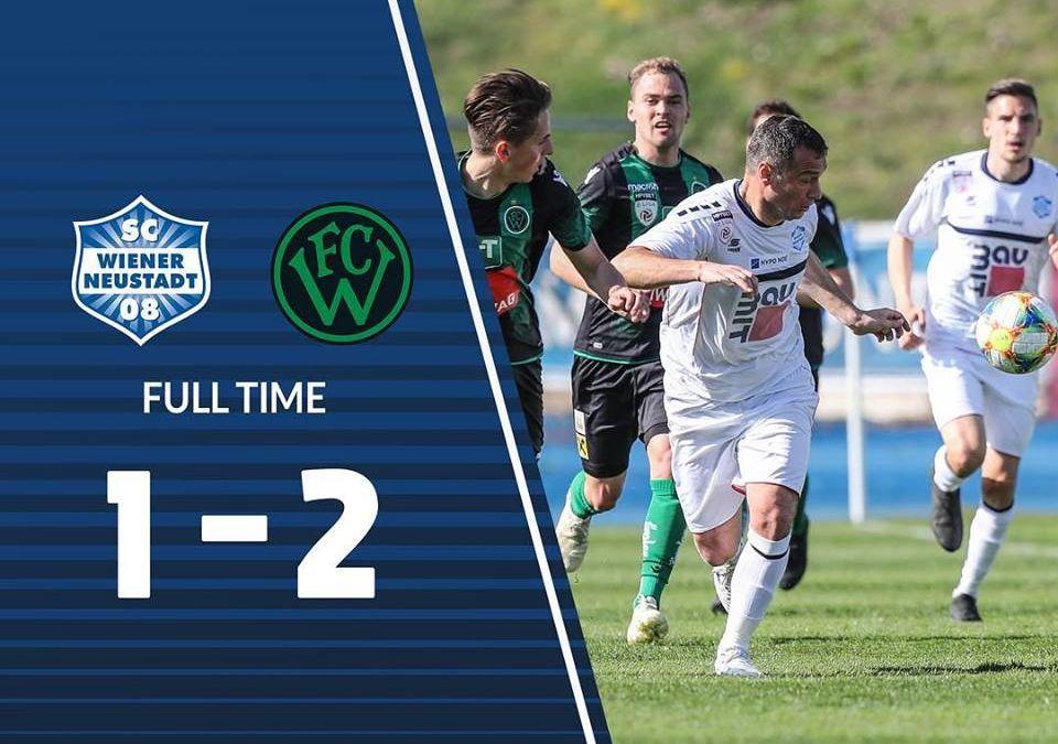 2. Niederlage in Folge – 1:2 gegen FC Wacker Innsbruck II