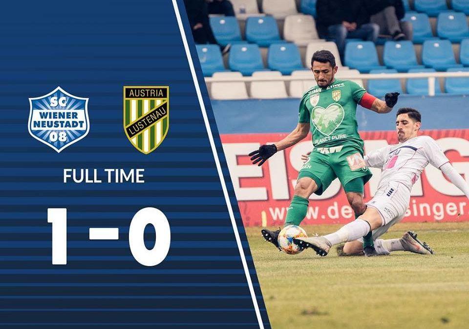 Die nächsten 3 Punkte – 1:0 Sieg gegen Austria Lustenau