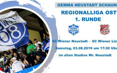 Es geht los – Saisonstart in der Regionalliga Ost