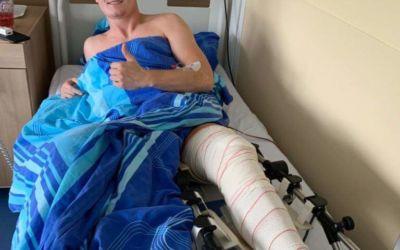 Botschaft von David Novak aus dem Krankenhaus