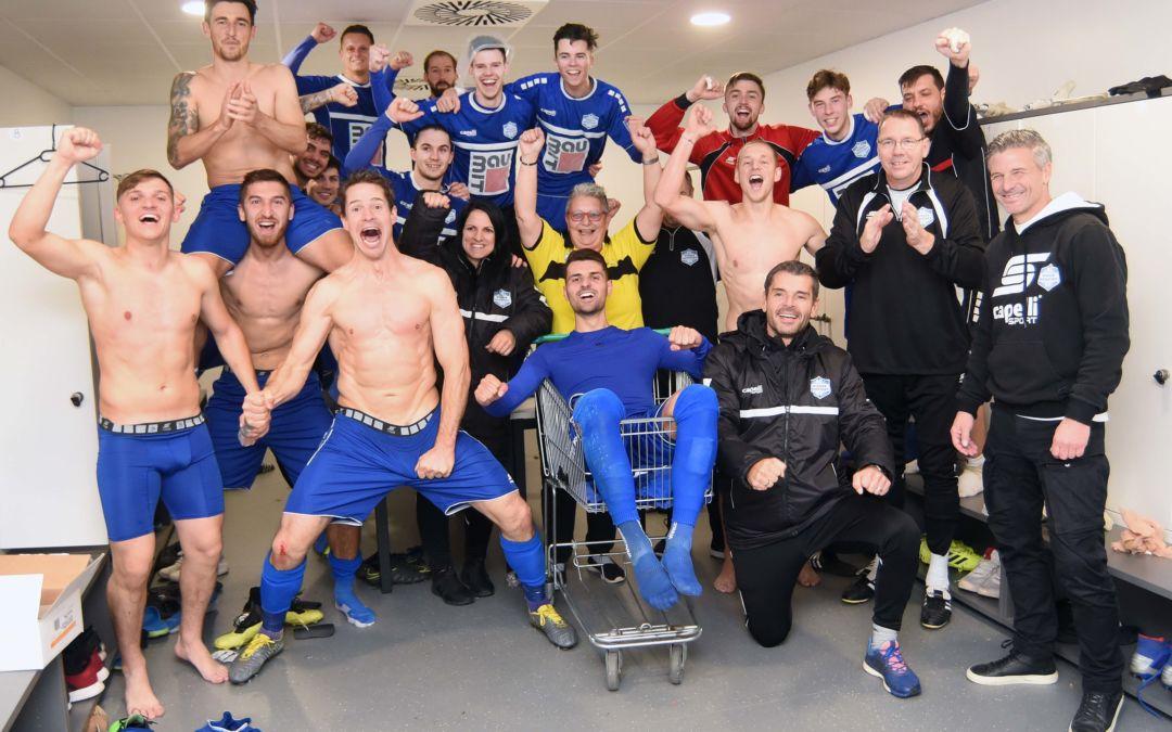 Unsere Blau-Weißen besiegen den ungeschlagenen Meister Ebreichsdorf